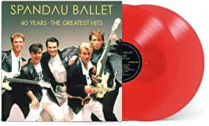 Spandau Ballet - 40 Years: The Greatest Hits (2LP/Red vinyl)