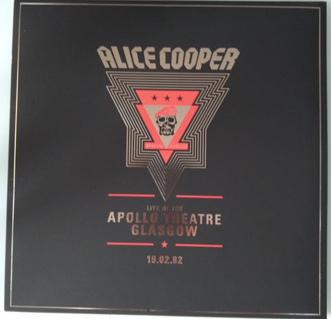 Cooper, Alice - Live at the Apollo Theatre, Glasgow 19/02/1982 (2020RSD3/2LP/Ltd Ed)