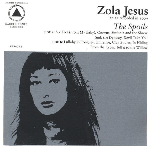 Zola Jesus - The Spoils (Sacred Bones 10th Anniversary/Ltd Ed)