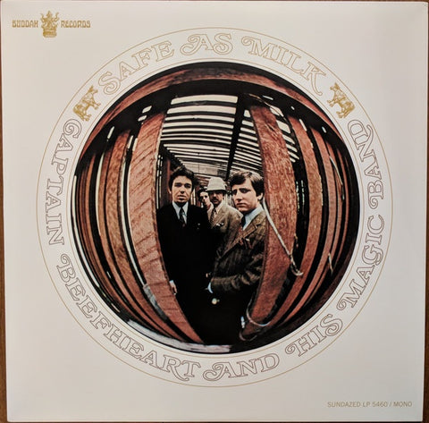 Captain Beefheart and His Magic Band - Safe As Milk (Mono/RI/White vinyl)