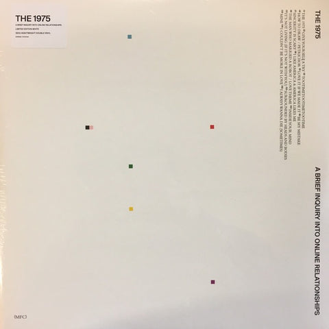 1975 - A Brief Inquiry Into Online Relationships (Indie Exclusive/2LP/Ltd Ed/White vinyl)
