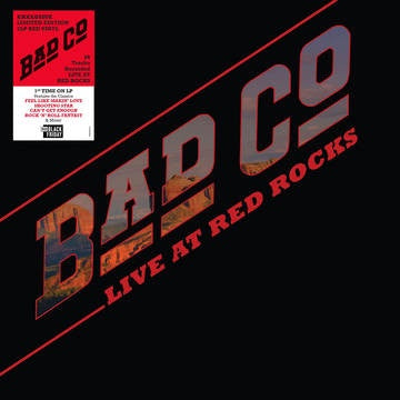 Bad Company - Live at Red Rocks (2019RSD2/2LP/Ltd Ed/Red vinyl)