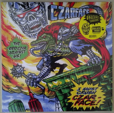 Czarface - The Odd Czar Against Us (2019RSD2/Ltd Ed/Green vinyl)