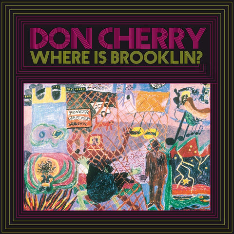 Cherry, Don - Where Is Brooklyn? (Ltd Ed/Clear Vinyl)