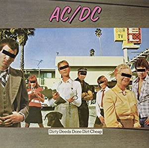 AC/DC - Dirty Deeds Done Dirt Cheap (RI/RM/180G)
