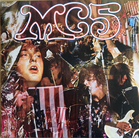 MC5 - Kick out the Jams (Ltd Ed/RI/Red, White & Blue Splatter vinyl)