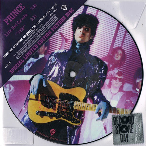 "Prince and The Revolution - Little Red Corvette (2017RSD/7""/Ltd Ed/Special Ed/Picture Disc/RI)"