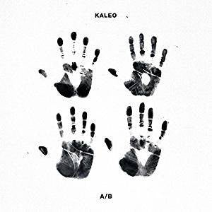 Kaleo - A/B (White/Black split vinyl)