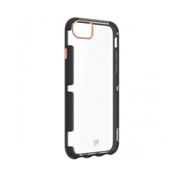 EFM Cayman D3O Case Armour suits iPhone 8/7/6s - Crystal/Black