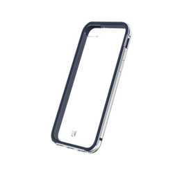 EFM Verona Case Armour with D3O suits iPhone 8/7/6S - Ocean Blue/Silver