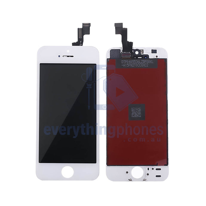 iPhone 5S Replacement LCD Digitizer Front Screen White