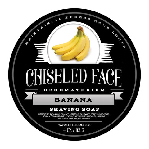 Tallow Shave Soap - Banana