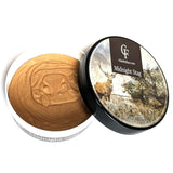 Silk Tallow Shave Soap - Midnight Stag