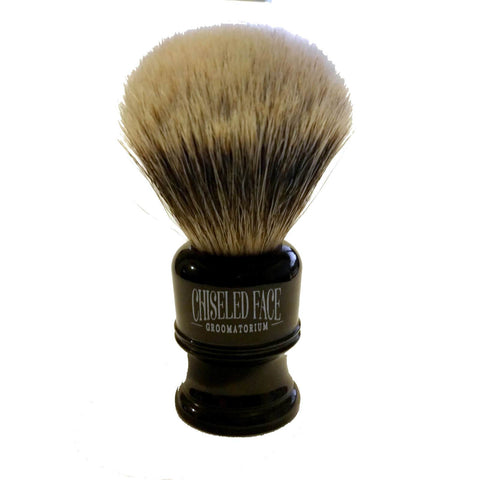 Chiseled Face Finest Badger Shaving Brush 24mm