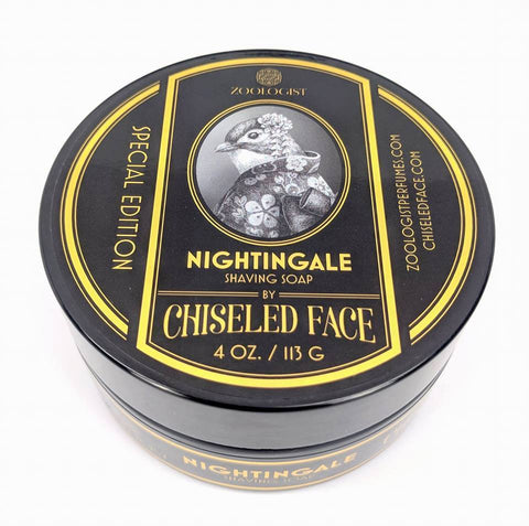 Chiseled Face - Zoologist Nightingale Shaving Soap