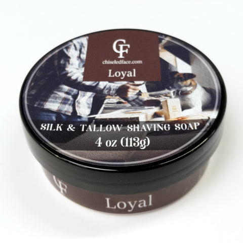 Silk Tallow Shave Soap - Loyal