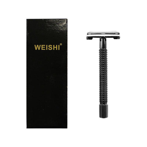WEISHI Shaving - 9306CL Gunmetal Long Handle Safety Razor