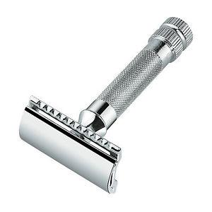 Merkur Heavy Duty Classic Safety Razor, Model 34C