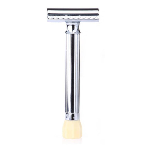 Merkur Progress Adjustable Chrome Safety Razor - Long Handle