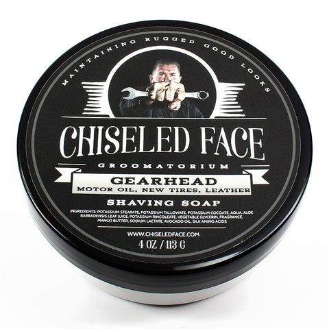 Tallow Shave Soap - Gearhead