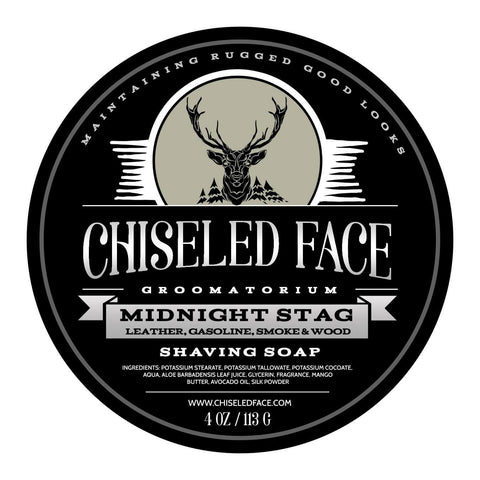 Tallow Shave Soap - Midnight Stag