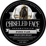 Tallow Shave Soap - Pine Tar - All Natural