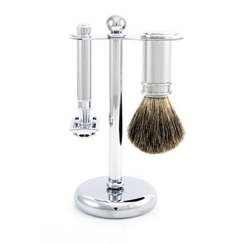 Edwin Jagger 3pc Chrome Set (DE)