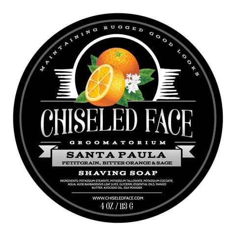 Tallow Shave Soap - Santa Paula Citrus - All Natural
