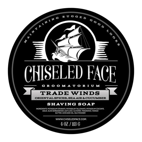 Tallow Shave Soap - Trade Winds