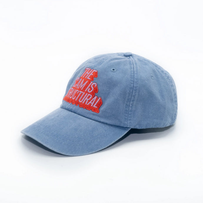 The Scam is Structural Denim Cap (Preorder)