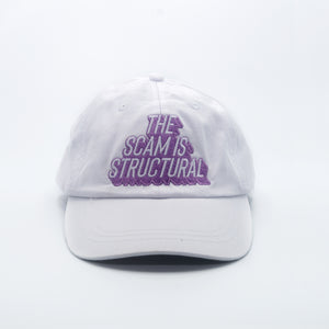 The Scam is Structural Cap (White)