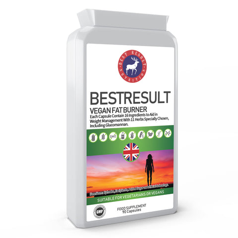 BestResult Vegan Fat burner 90 Capsules