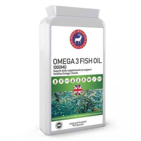 Omega 3 Fish Oil 1000mg 90 Capsules