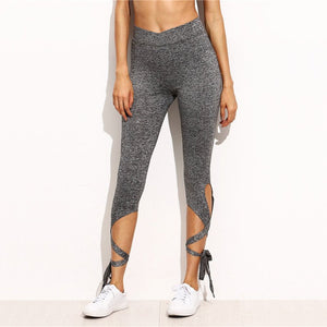 Bow Ribbon Fitness Leggings