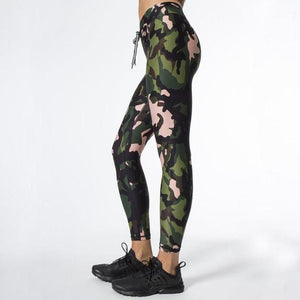 Camouflage Crop & Legging Set