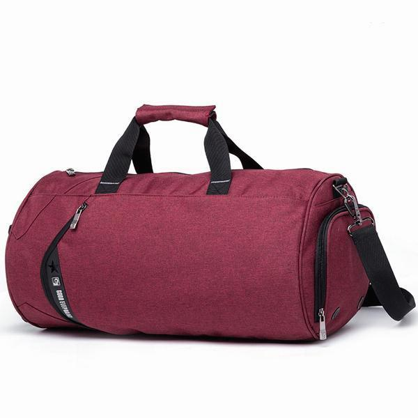 Cylinder Training Duffle Bag - Wine Red