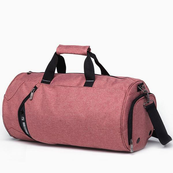Cylinder Training Duffle Bag - Pink