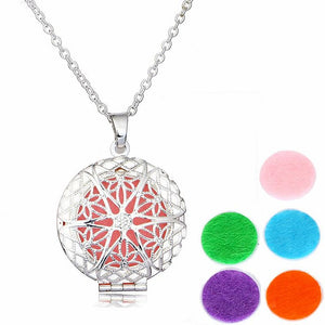 Silver aromatherapy pendant wellkim silver aromatherapy pendant wellkim okotokscalgaryalberta aloadofball Image collections