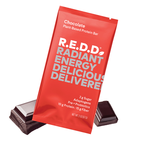 R.E.D.D. Chocolate Plant-Based Protein Bar