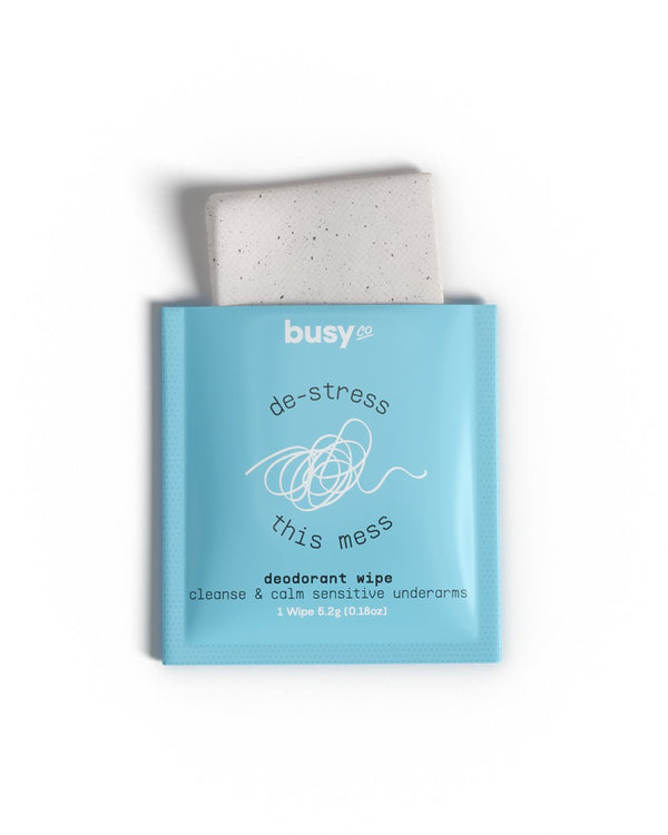 CALM Deodorant Wipes