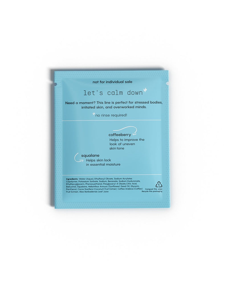 CALM Face Wipes
