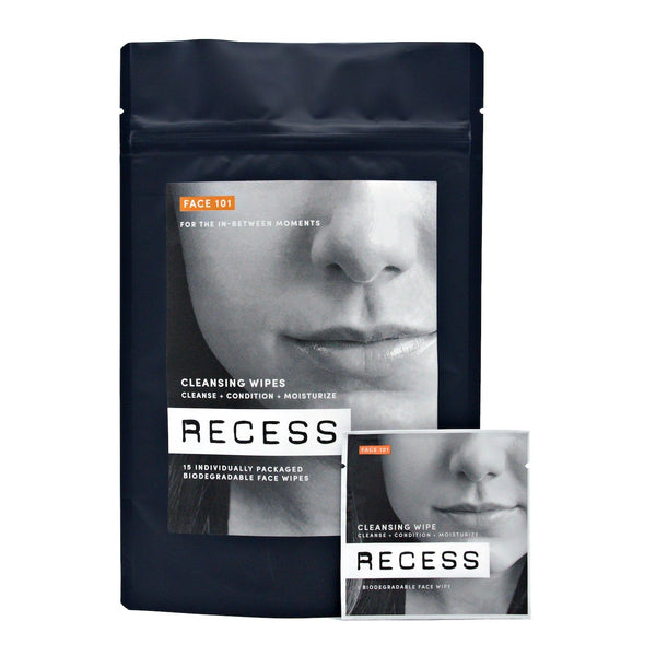 FACE 101: Cleansing Wipes (Pack of 15)