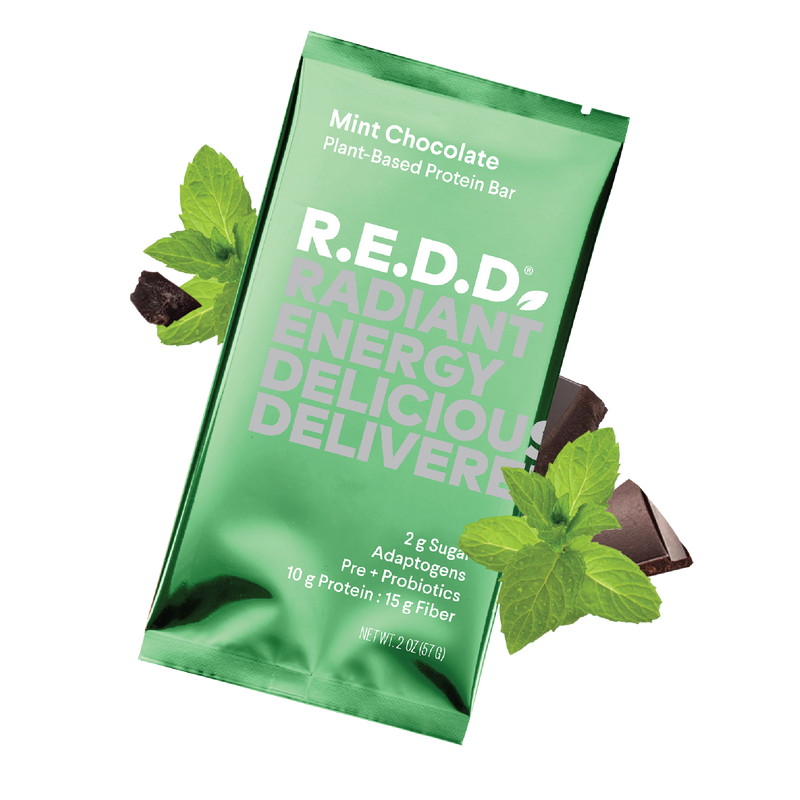 R.E.D.D. Mint Chocolate Plant-Based Protein Bar