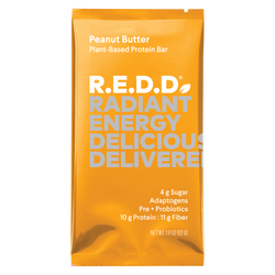 R.E.D.D. Peanut Butter Plant-Based Protein Bar