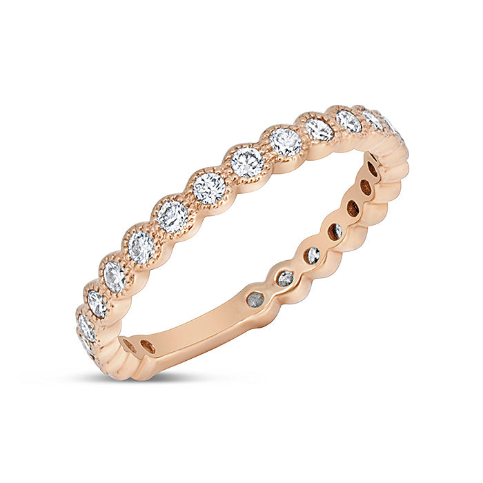 Floating Diamond Band - Pasha Fine Jewelry