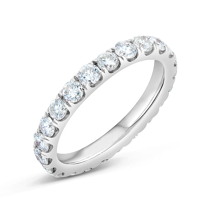 Round Diamond Band