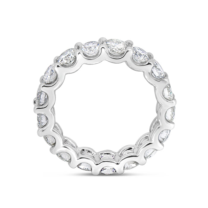 Shared Prong Eternity Band Ring - Pasha Fine Jewelry