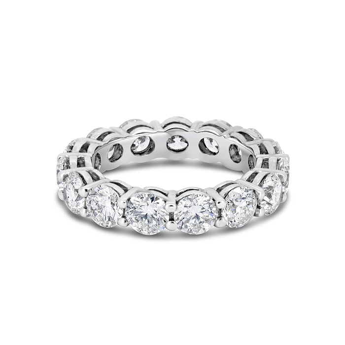 Shared Prong Eternity Band - Pasha Fine Jewelry