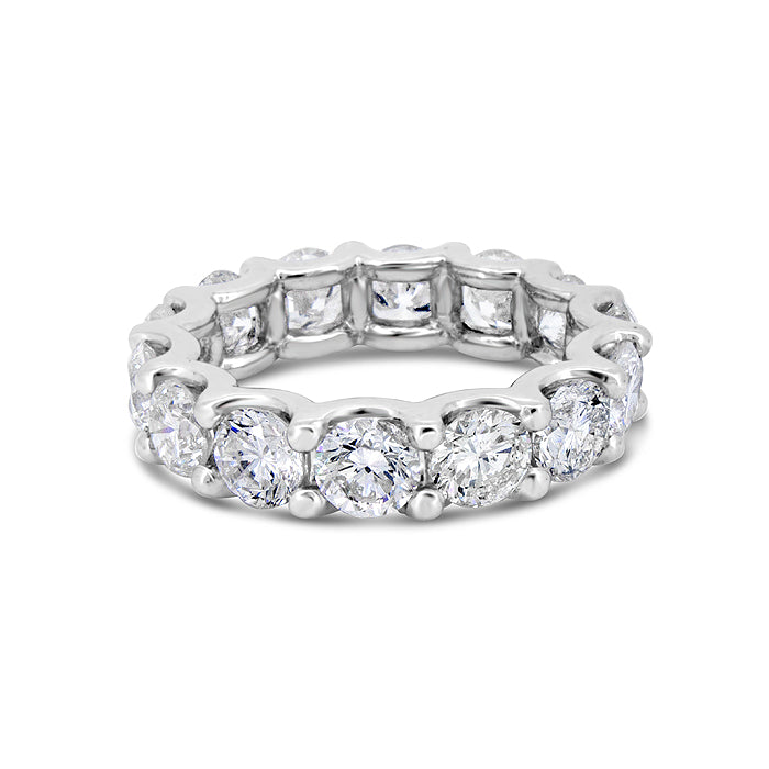 Royal Shared Prong Diamond Band - Pasha Fine Jewelry