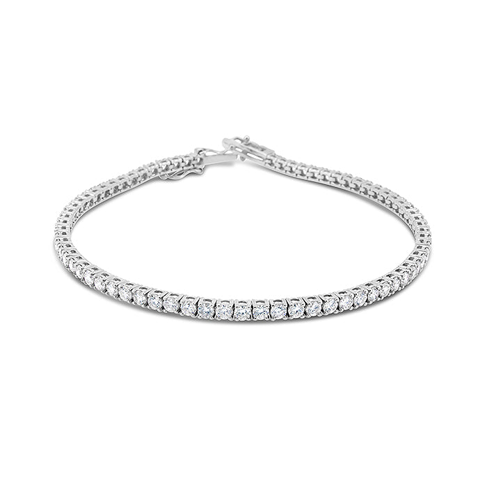 Angela Diamond Tennis Bracelet